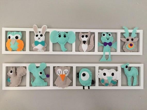 D coration murale chambre de bebe cadres muraux pour chambre for Decoration murale animaux