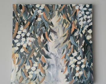 Red River Gum - Original Art - Acrylic on Stretched Canvas