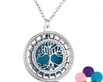 Pendant necklace Locket aromatherapy perfume oil