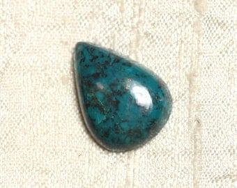 Cabochon semi precious - Azurite drop 22x16mm N3 - 4558550079268