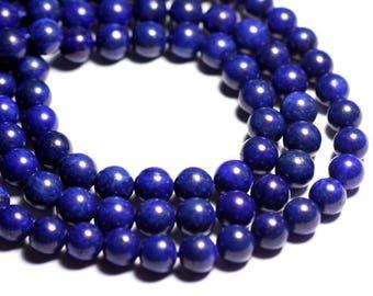 4pc - stone beads - Lapis Lazuli balls 10mm B - 4558550093233