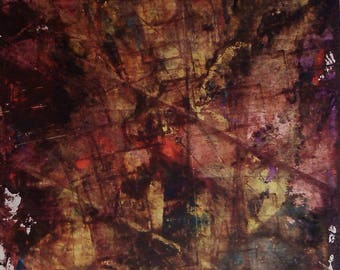 Abstraction Abstract Art abstract painting original abstract painting acrylic on cardboard 170521