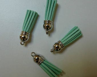 tassel suedine Mint 38mm