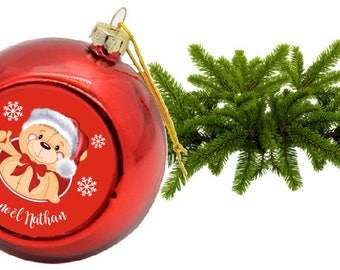 """""""CUB"""" CHRISTMAS ORNAMENT PERSONALIZED"""