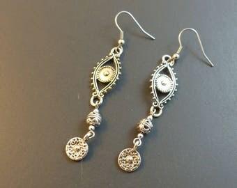 Silver earrings Oriental ♥ ♥