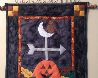 Whimscal Autumn Quilted Wallhanging