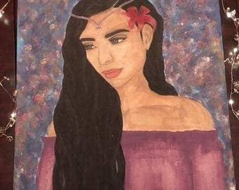 The Gypsy Spirit Acrylic Painting~