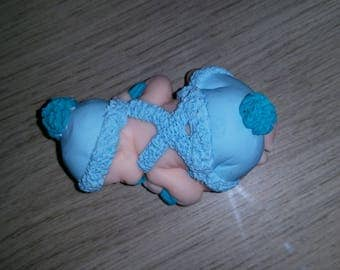 Baby jacket blue color choice