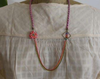 Neon Rainbow necklace
