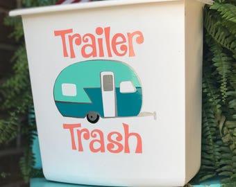 Trailer Trash Glamper trashcan for your camper