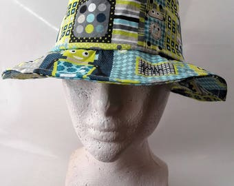 fabric fedora Hat