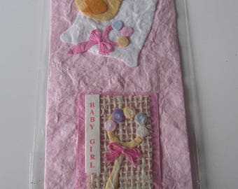 very nice embellishment for scrapbooking themed baby girl