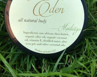 The Eden Collection - Body Moisturizer 4oz Jar