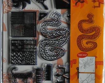 Transparent clear - Artemio - Ethnic stamps
