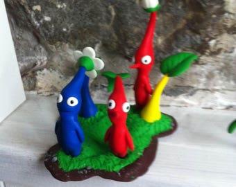 Pikmin mini-diorama 7