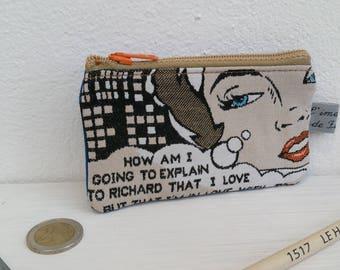 Wallet, card holder, comics