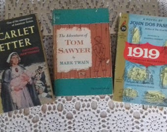 Three classics of American literature