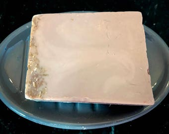 Gets In Your Stomach Handmade Soap - Oatmeal Stout Scented Soap Infused with Oatmeal - Anti-itch soap - long lasting