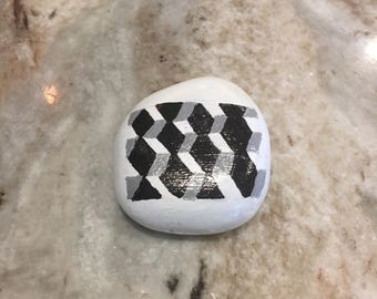 Hand-Painted Rock