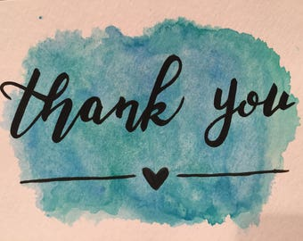 Thank You Print Art