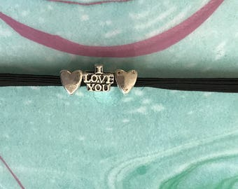Love w/ Hearts Charm Planner Band