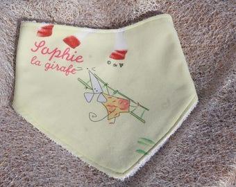 Anti-bavouille Sophie (4) baby scarf