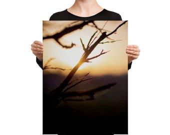 Art - Sunset - Canvas - by BalazsRomsics