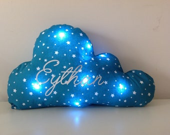 Pillow bright cloud with Leds battery