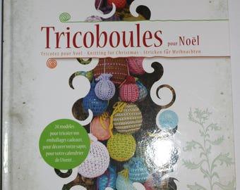 "Book""Tricoboules Christmas"" Sabine Divoux Gaunet DMC"