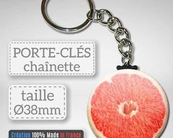Key Fruit grapefruit grapefruit citrus idea gift Badge 38 mm