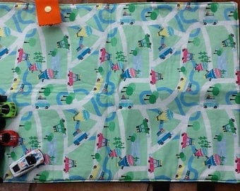 Travel play mat