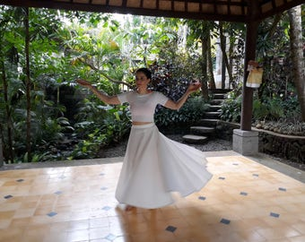 Sufi Whirling Dance Skirt