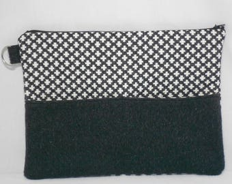 pouch/maxi ipad/Tablet/idea gift/geometric clutch bag/pouch