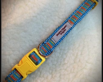 Small Fruitstripe Dog Collar