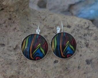 """Zebra collection"" Stud Earrings"
