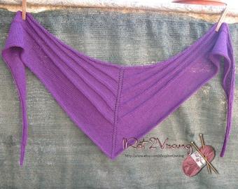 Purple Scarf/Shawl