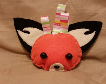Infant Fox Rattle