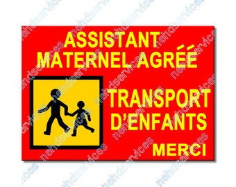 Wizard maternal children carrying magnetic plate