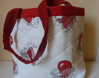 Snack bag or blanket for little girl