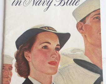 WW2 U. S. Navy WAVES recruiting booklet, 1943