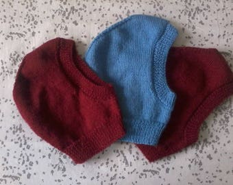 hand knitted child hood