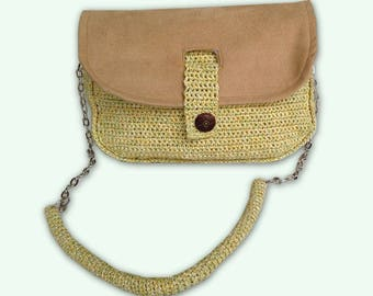 webbing pouch with strap
