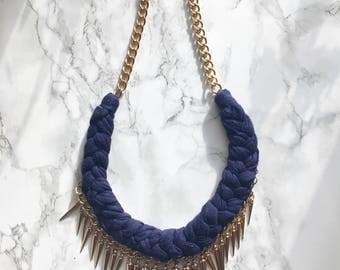 Handmade Spikey Necklace