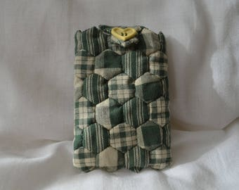 Case is tissue paper