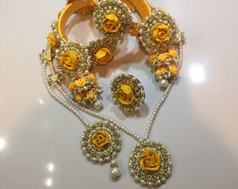 New Wedding/Mehndi/Party jewellery Set