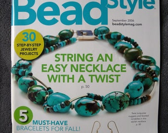 Journal Beadstyle Magazine September 2006 (Vol 4, 5 issue)