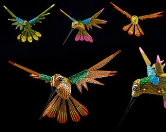 Colibrí-Alebrije-Mexican crafts (free shipping in Italy)
