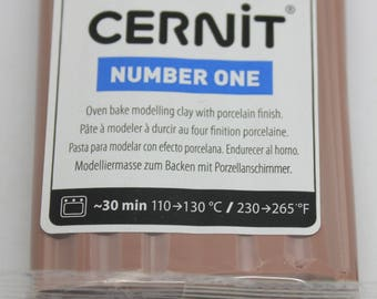 Polymer clay CERNIT Number One color-TAUPE - 56 Gr