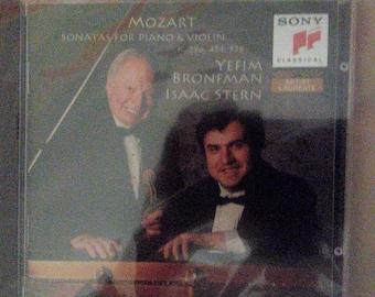 1 Isaac Stern, Yefim Bronfman - MOZART sonatas for piano & violin SONY CD