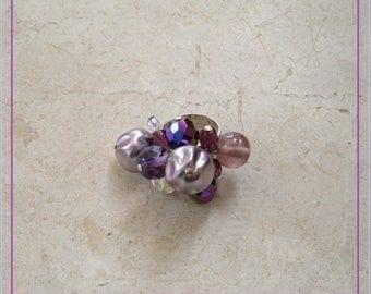 Purple sweet ring
